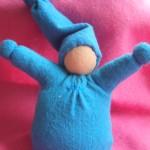 Mini zakpopje blauw