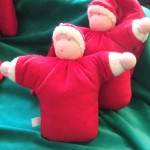 Wiegepop kerstman